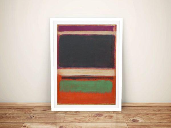 Mark Rothko No.3 Abstract Print on Canvas