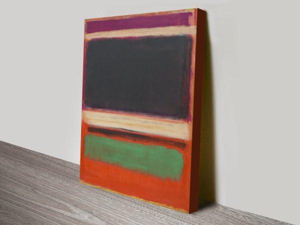 Affordable Mark Rothko Striking Canvas Prints