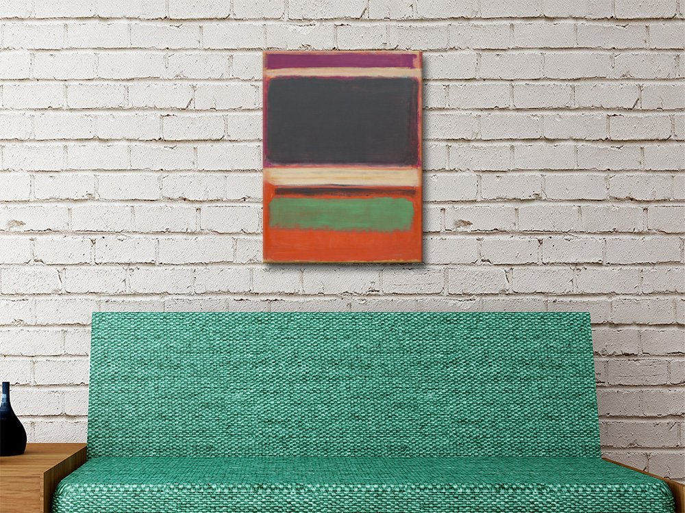 Abstract Stripes by Mark Rothko Home Decor AU