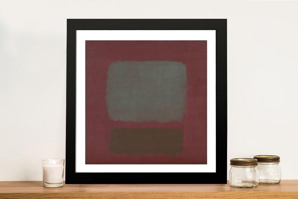 Buy a Framed Mark Rothko No.37 Print Online
