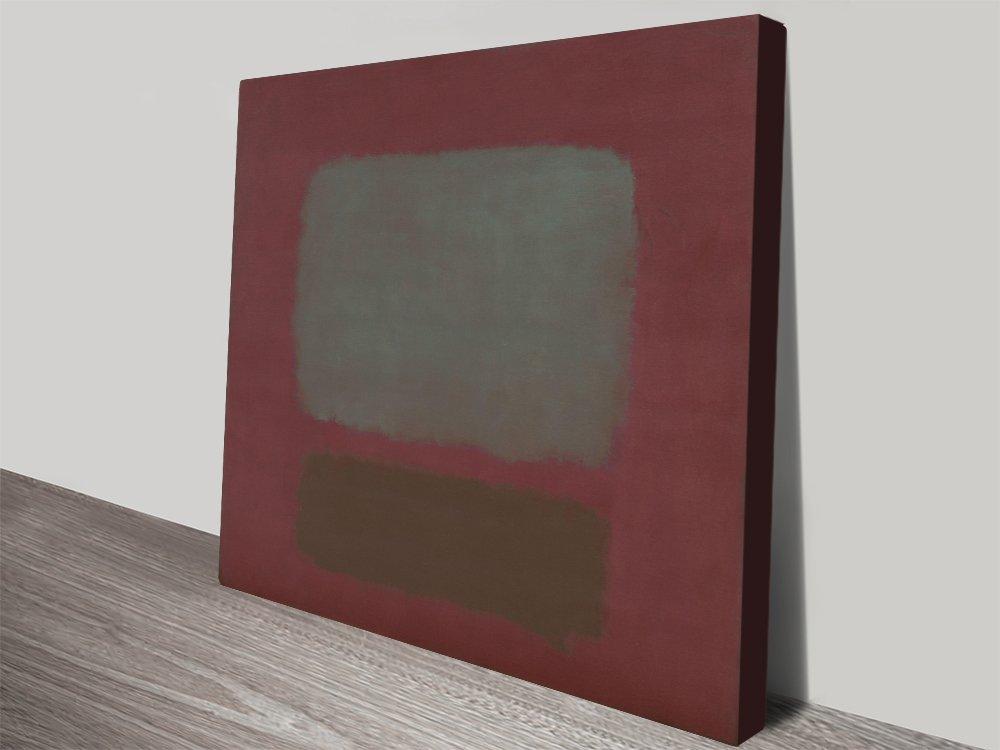 Mark Rothko No.37 Abstract Canvas Art