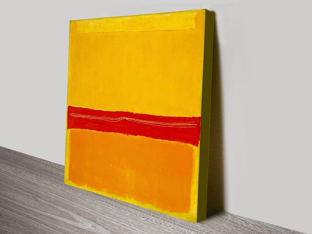 No.5 Mark Rothko Modern Art Print