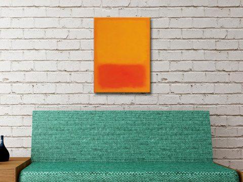 Ready to Hang Abstract Art by Mark Rothko