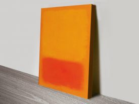 Orange & Yellow Mark Rothko Canvas Art