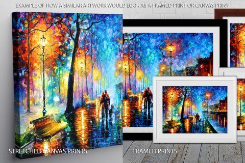 Leonid Afremov Quality Print