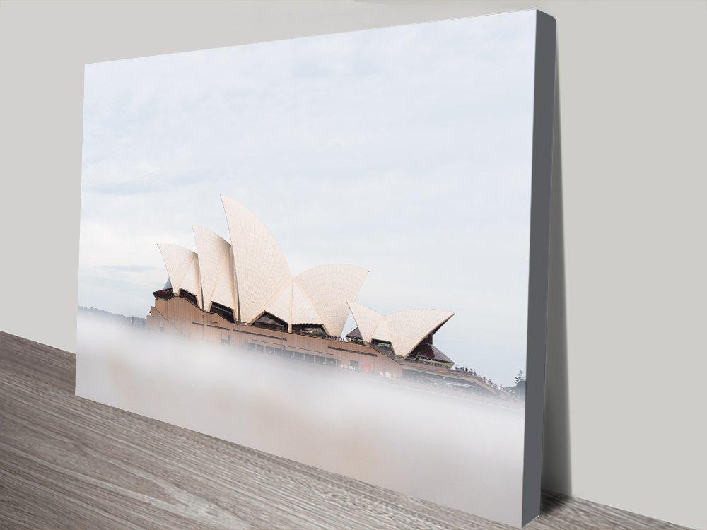 Stretched Canvas Sydney Opera House Wall Art