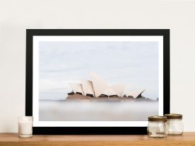 Misty Opera Sydney Opera House Artwork