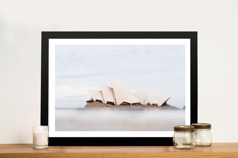 Misty Opera Sydney Opera House Artwork