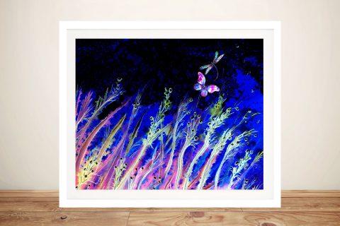 Moonlight Breeze Linda Callaghan Framed Art