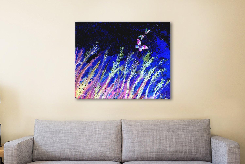 Moonlight Breeze Fantasy Landscape Art