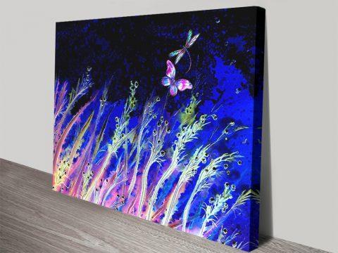 Moonlight Breeze Magical Canvas Artwork
