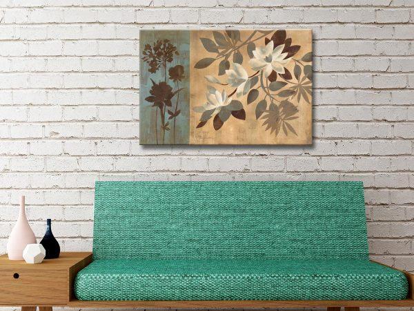 Romantic Magnolias Ready to Hang Wall Art
