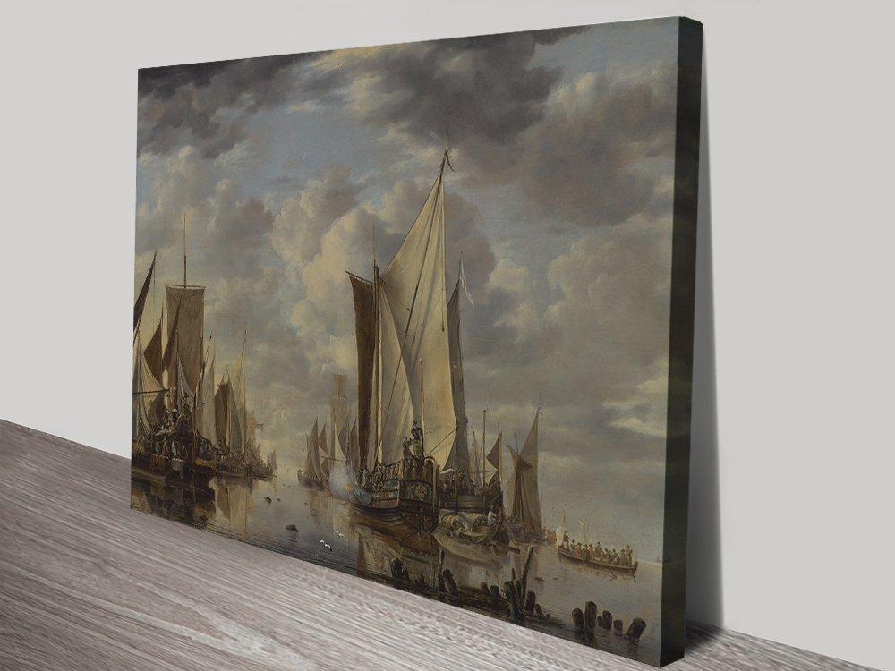 Ready to Hang Jan Van de Capelle Classic Prints