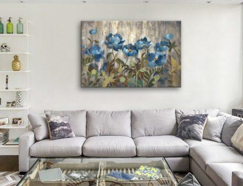 Silver and Sapphire Silvia Vassileva Artwork