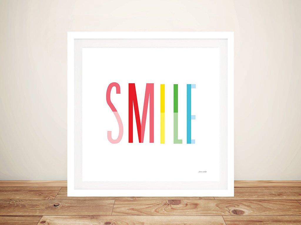 Smile Framed Ann Kelle Art Great Gift Ideas AU