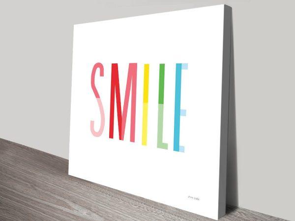 Smile Kids Wall Art by Ann KelleSmile Kids Wall Art by Ann Kelle