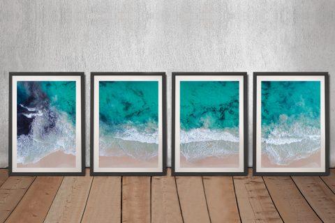 Sovereign Waves Matt Day Multi-Panel Art