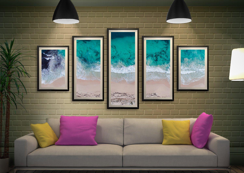 Sovereign Waves Ready to Hang Matt Day Art