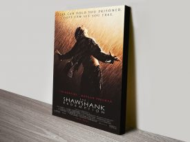 Buy The Shawshank Redemption Movie Poster Canvas Print