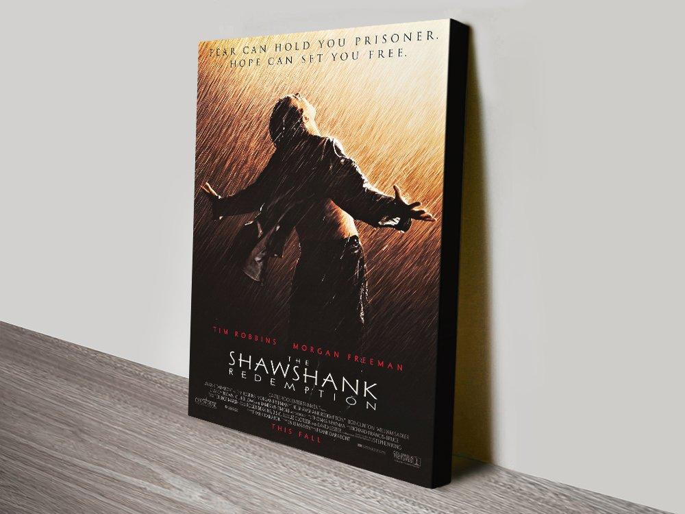 Buy The Shawshank Redemption Movie Poster Canvas Print