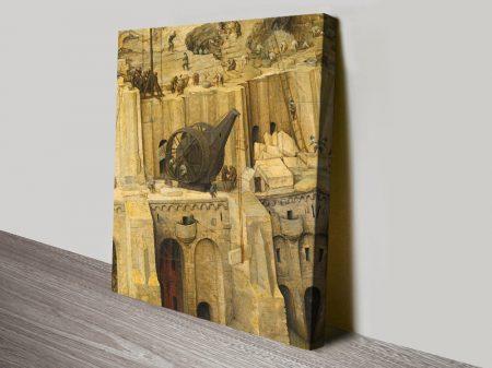 Tretkran Bruegel the Elder Classic Art Print