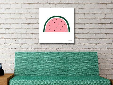 Watermelon by Ann Kelle Playful Wall Art