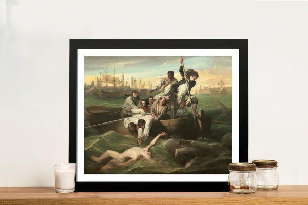Watson and the Shark Classic Art Print