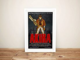 Buy a Framed Akira Canvas Movie Poster