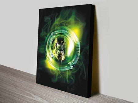 Alien: Resurrection Film Poster on Canvas