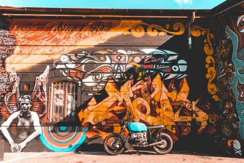 Bike Cruiser Wall Art Home Decor Ideas AU