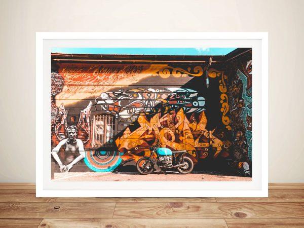 Bike Cruiser Framed Art Great Gift Ideas AU