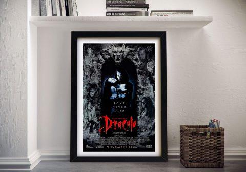 Dracula Movie Poster by Bram Stoker