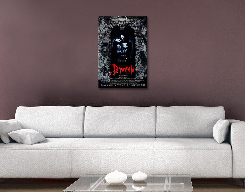 Dracula Movie Poster Canvas Print