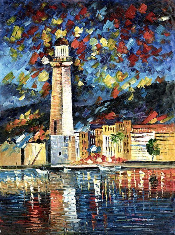 lighthouse in Crete Afremov