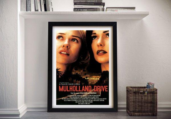 Mulholland drive Framed Wall art