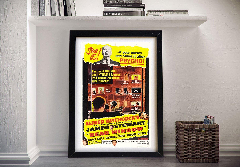 Buy a Rear Window Movie Poster Online