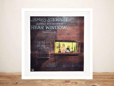 Rear Window Square Movie Poster Print