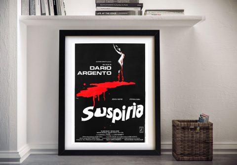 Suspiria Horror Movie Poster