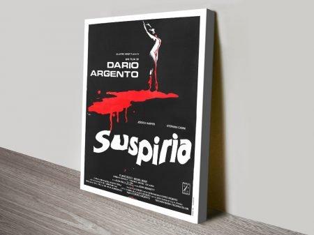 Suspiria Horror Movie Canvas print