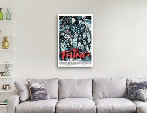 The Thing Film Poster Unique Home Decor AU