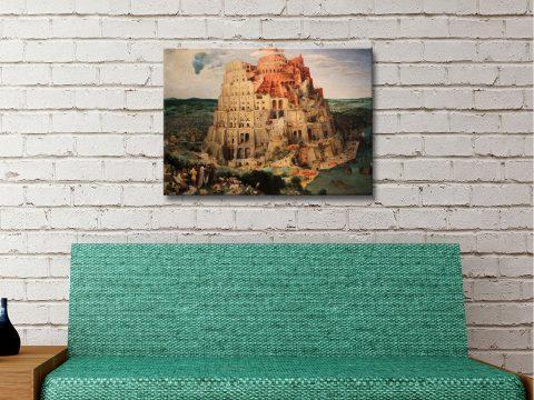 Tower of Babel Art Home Decor Ideas Online