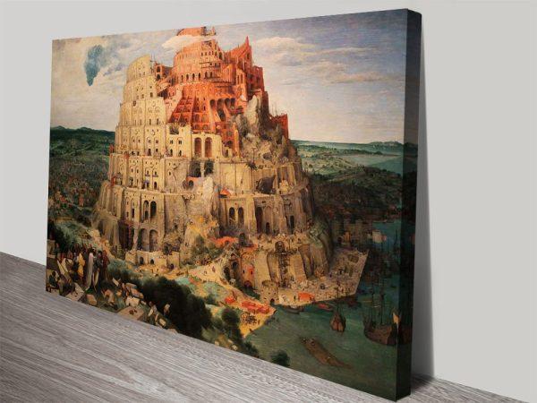 Tower of Babel Pieter Bruegel Classic Art