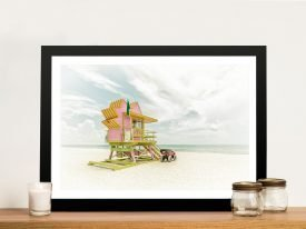 Miami Beach - Florida Flair Wall Art
