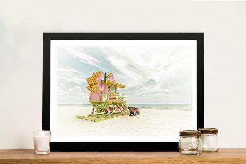 Miami Beach - Florida FlairWall Art