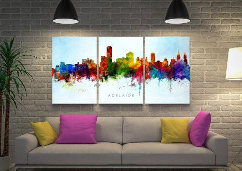 Ready to Hang Michael Tompsett Skyline Art