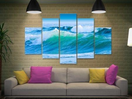 Azure Seas Seascape Split Panel Wall Art
