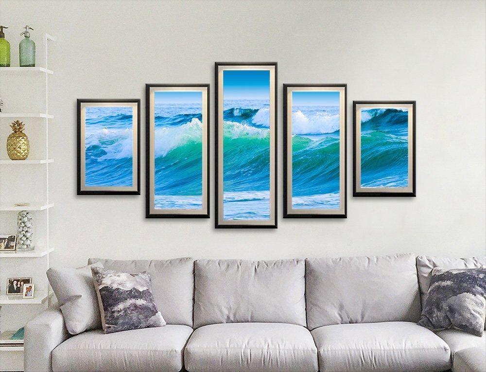 Framed Split Panel Seascapes Gift Ideas AU