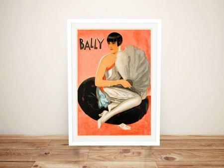 Bally Elegance Framed Poster Print