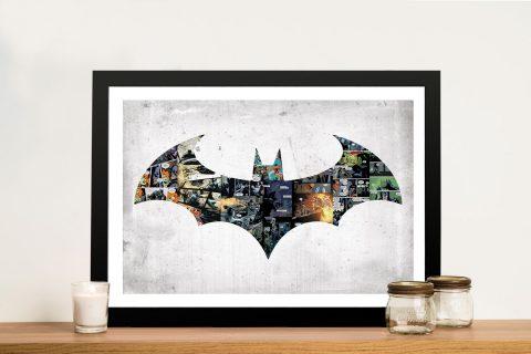 Batman Comic Strip Pop Art on Canvas