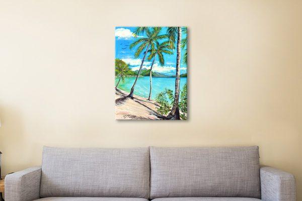 Beach Scene Print Home Decor Ideas Online